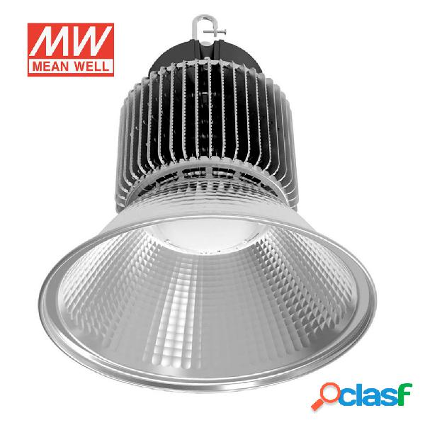 Campana led industrial 250w chip led osram + meanwell driver