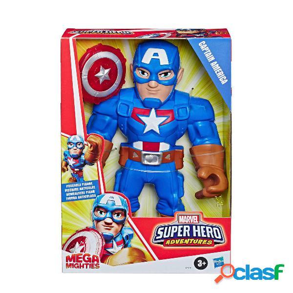 Capitan America Marvel Figura Mega Mighties