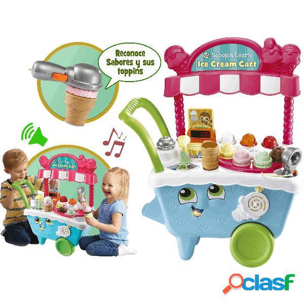 Carrito de helados colores y sabores| Juguete Infantil