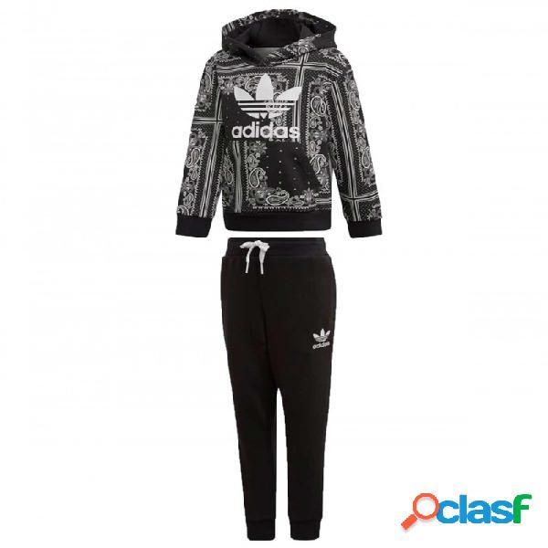 Chandal Adidas Bandana Hoodie 4-5a Negro