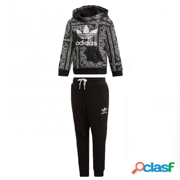 Chandal Adidas Bandana Hoodset 3-4a Negro