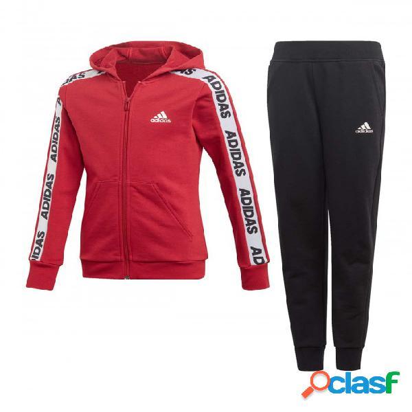 Chandal Adidas Yg Hood Cot 7-8a Rojo