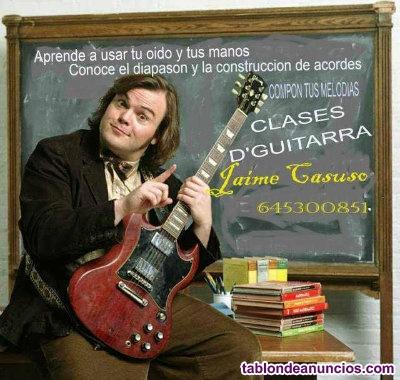Clases de guitarra por wasap