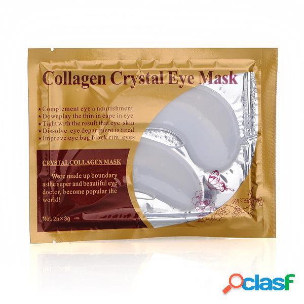 Collagen máscara de ojos de cristal parche párpado Deep