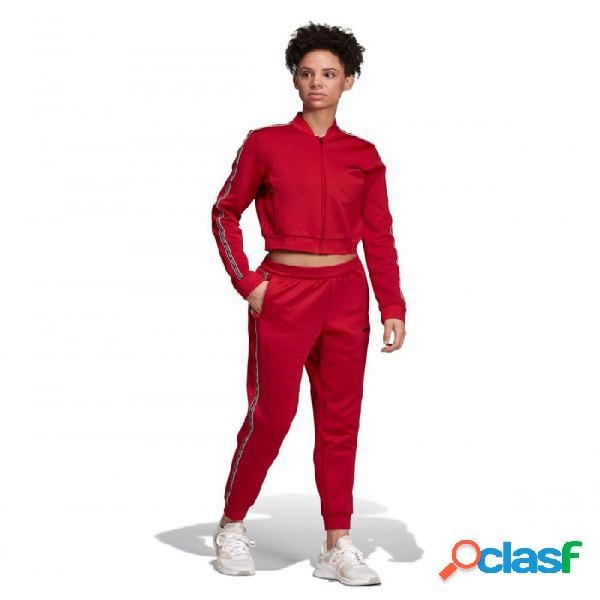 Conjunto Adidas W Tracktop Rojo S Small