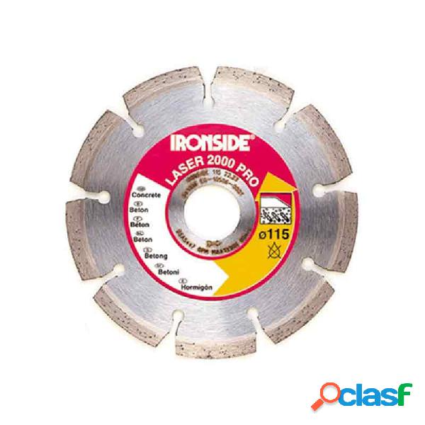Disco de diamante ironside laser 2000 125 mm
