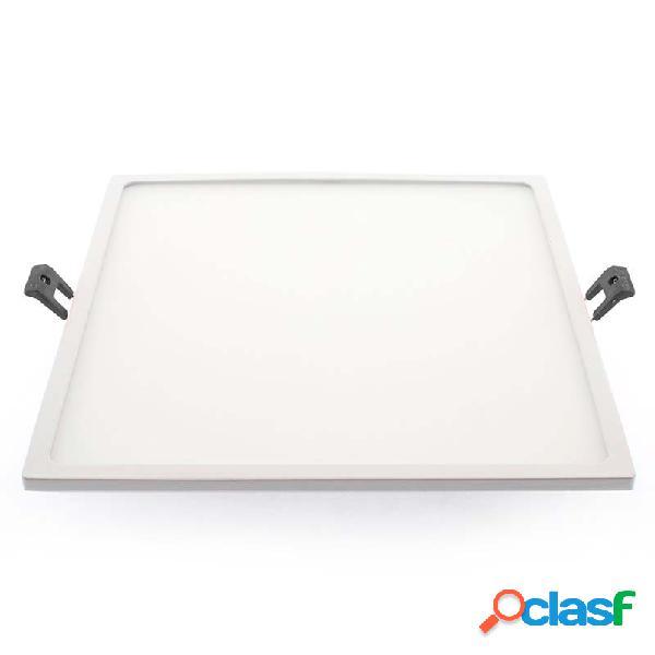 Downlight led slim kvadrata epr 24w blanco cálido