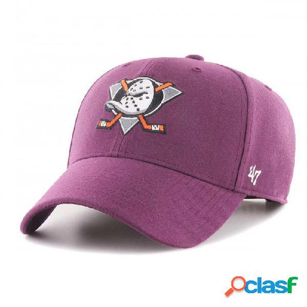 Gorra 47 Brand Anaheim Ducks Morado One Size U
