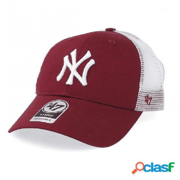 Gorra 47 New York Yankees Burdeo U