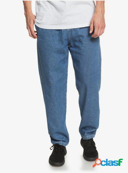 Heritage - Pantalón Elástico de Corte Baggy para Hombre -