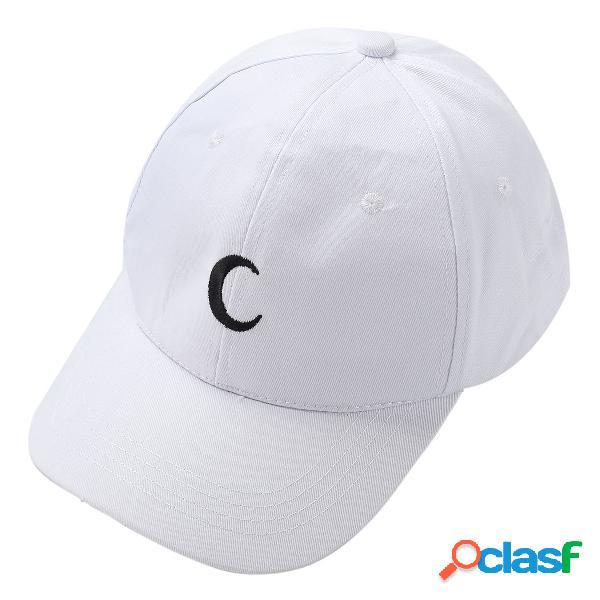 Hombres Mujer White Moon Sombrero Hip Hop Kpop Sport