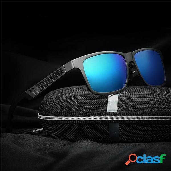 Hombres Protección UV Polarized Aleación Gafas de Sol