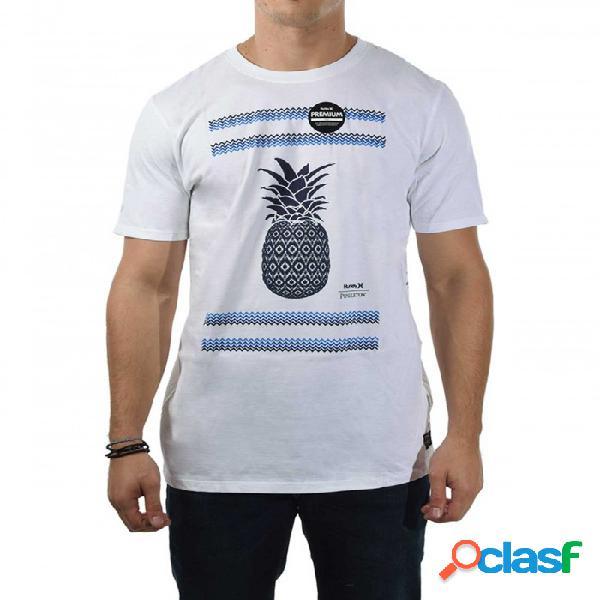 Hurley Pendleton Camiseta Blanco Xl