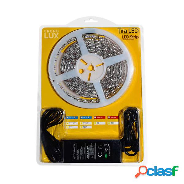 Kit tira led flexible smd5050 5m (30 led/m) - ip65 blanco