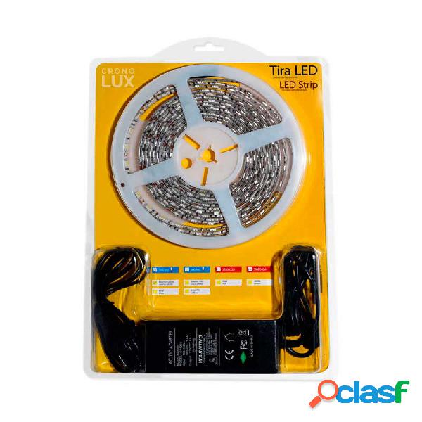 Kit tira led flexible smd5050 5m (60 led/m) - ip65 blanco