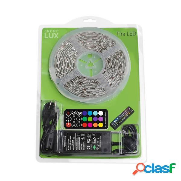 Kit tira led flexible smd5050 5m (60 led/m) rgb - ip65 rgb