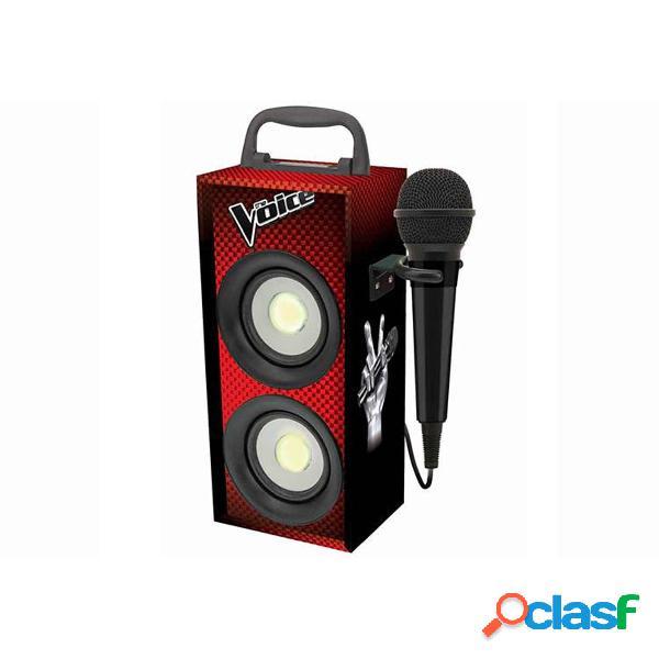 La Voz Mini Torre con Micro Bluetooth