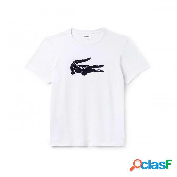 Lacoste Camiseta Blanco Blanco L