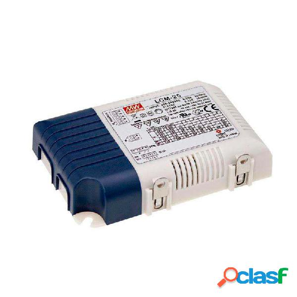 Led driver mean well ajustable lcm-25 0-10v pwm