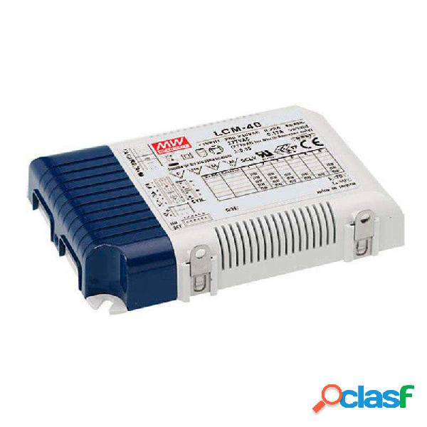 Led driver mean well ajustable lcm-40 0-10v pwm