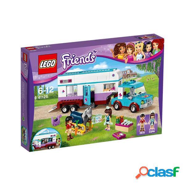 Lego Remolque Del Veterinario De Caballo