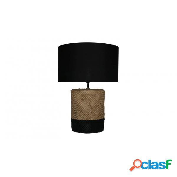 Lámpara De Sobremesa Natural Marron Ceramica 42 X 67
