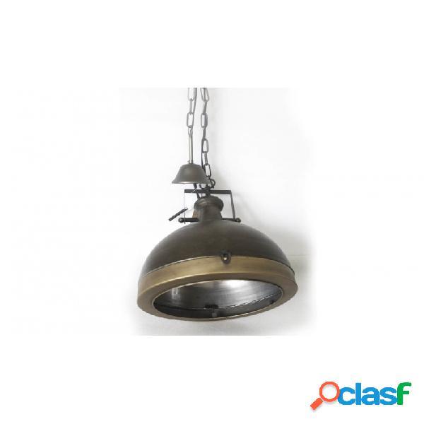 Lámpara Techo Dorado Envejecido Metal 35 X 47,5