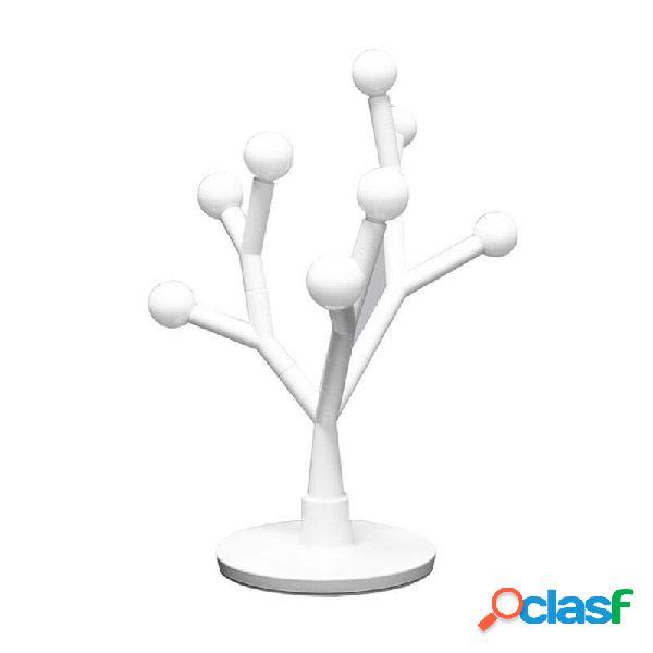 Lámpara de mesa boj blanco cálido