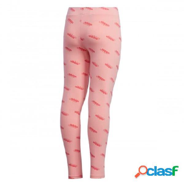 Mallas Adidas Yg Fav Tight 10-11a Rosa