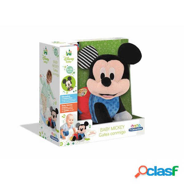 Mickey Mouse Baby Mickey Gateos| Juguete Infantil