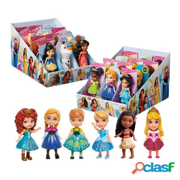 Mini Princesas Glitter Princesas Disney