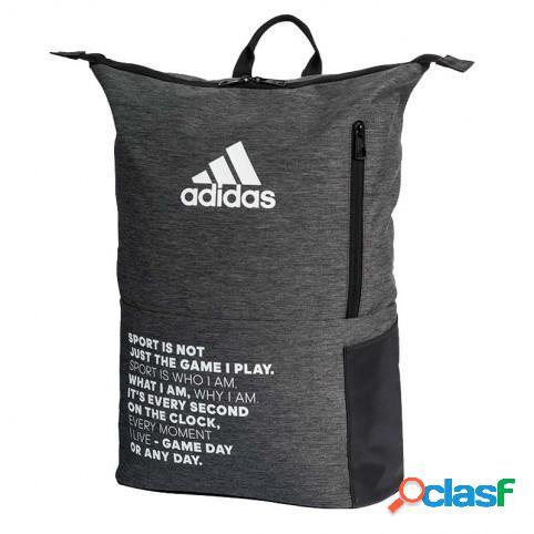 Mochila Adidas Multigame 2.0 Gris/Negro U Indefinido