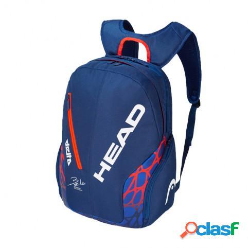 Mochila Head Delta Bela Backpack 2019 Negro Azul/Naranja