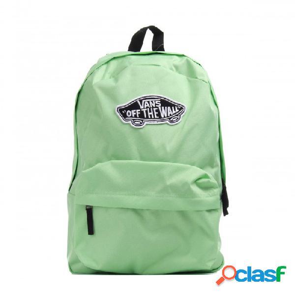 Mochila Vans Wm Realm Backpack One Size U Verde