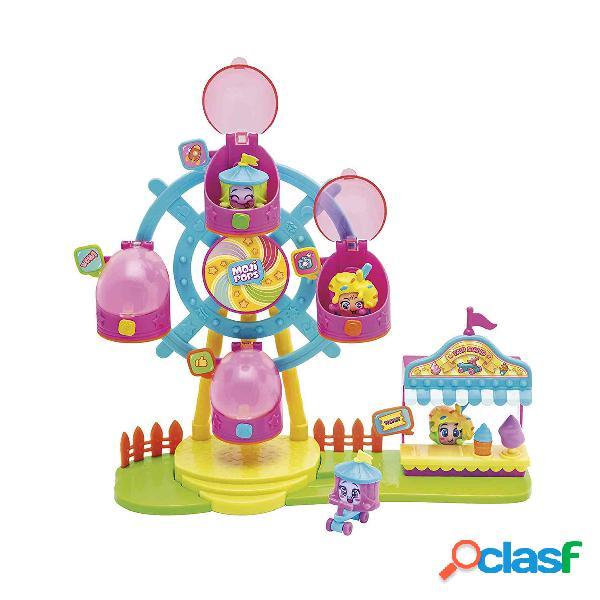 Mojipops Ferrys Wheel con 2 exclusivas figuras