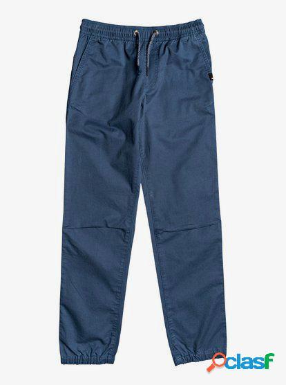 Mushy Rush - Pantalón de Chándal para Chicos 8-16 - Azul -