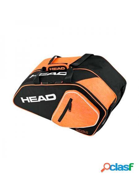 Paletero head padel combi negro naranja