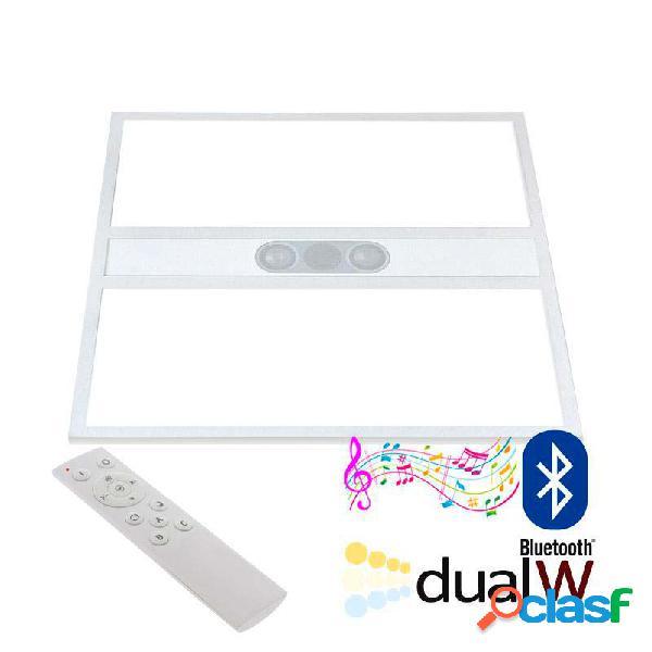 Panel led 40w blanco dual + audio bluetooth rf 60x60cm