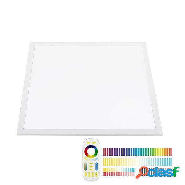 Panel led 40w rgb + cct rf 60x60cm rgb + blanco dual