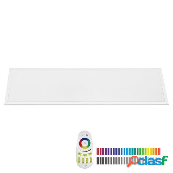 Panel led 40w rgb+cw rf 30x120cm rgb + blanco frío