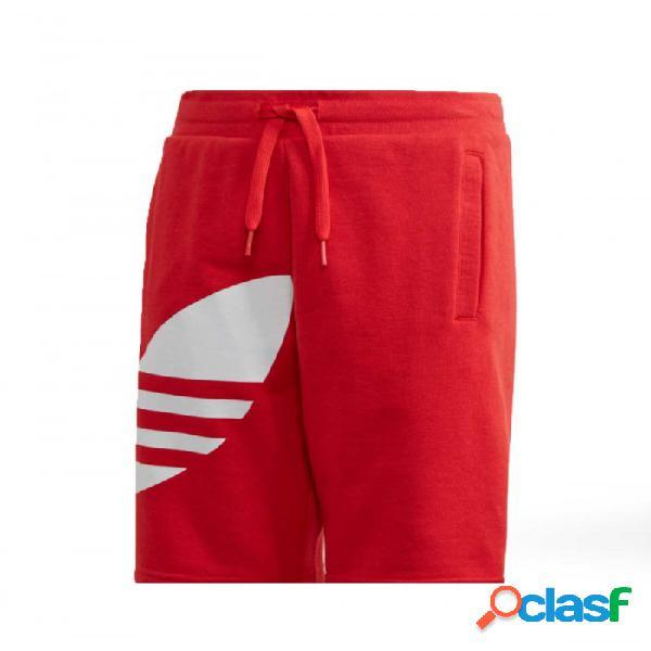 Pantalón Adidas Bg Trefoilshort 8-9a Rojo