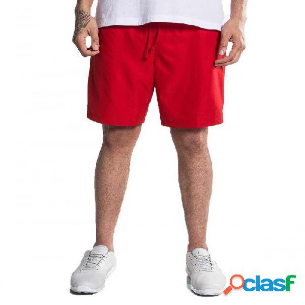 Pantalón Corto Lacoste Rojo M Rojo