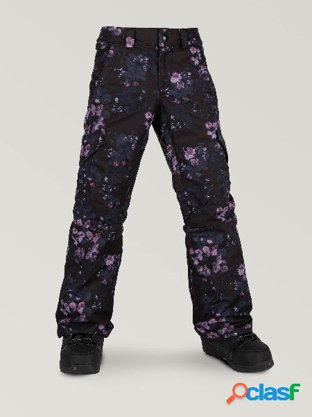 Pantalón de nieve Silver Pine - BLACK FLORAL PRINT (Niňos)
