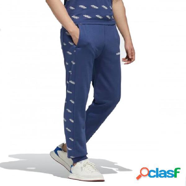 Pantalon Adidas M Fav Ts Tp Knt Azul S Small