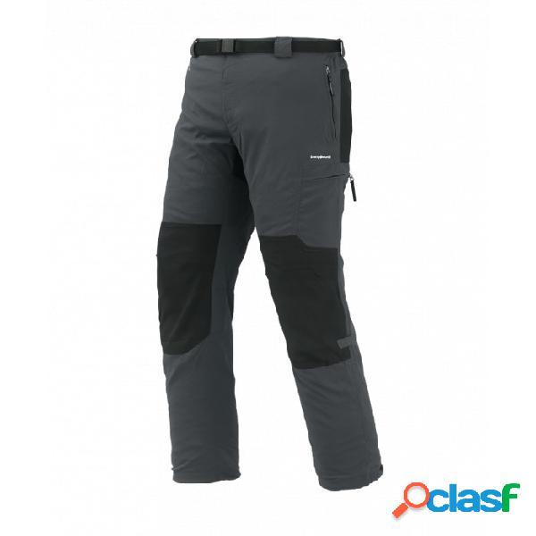 Pantalones De Montaña Trangoworld Zayo Fi Hombre Gris Negro
