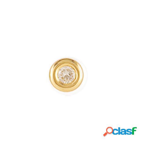 Pendiente Oro Amarillo18 Kts Niña 61ma1703/6