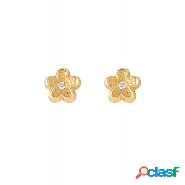 Pendientes Oro 18 Kt Circonitas 61a1501/2m