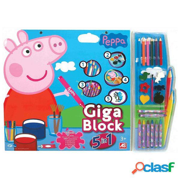 Peppa Pig Giga Block 5 en 1