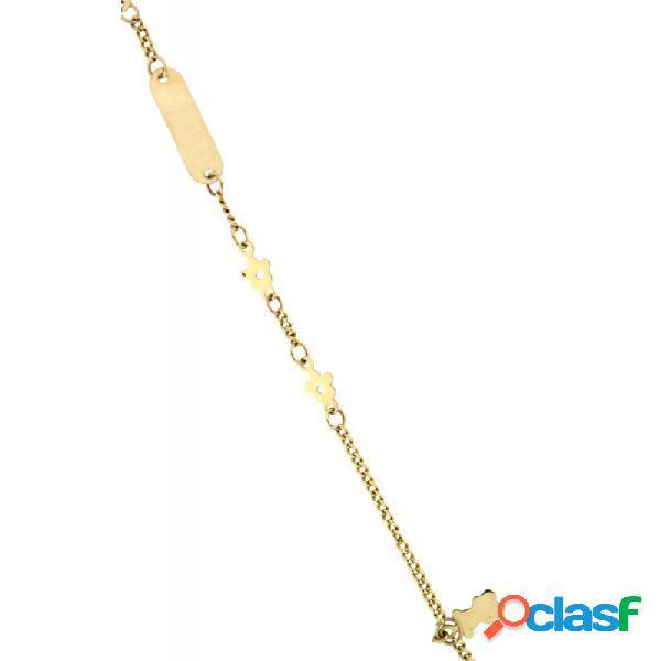 Pulsera Oro 18k Niña 000-03133-14