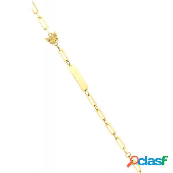 Pulsera Oro 18k Niña 3266-sat